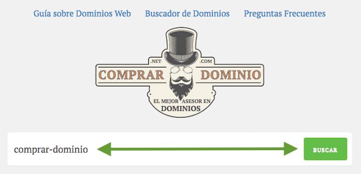 Buscar el Whois is del Dominio