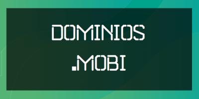 Dominios Mobi