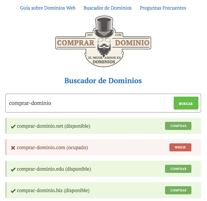 ver dominio disponible