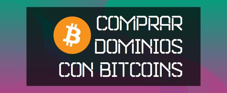 comprar dominio con bitcoin